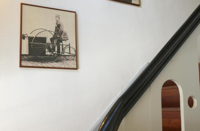 Trappen i hovedhuset