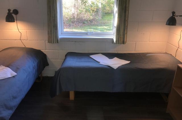 Soveværelse i standard feriehus
