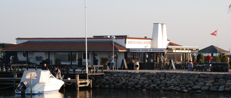 Der findes mange dejlige restauranter i området