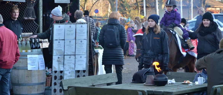 Julemarked på Rørvig Centret